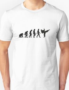 The Evolution of Taekwondo T-Shirt
