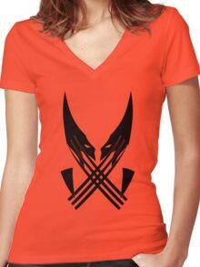 Logan Women's Fitted V-Neck T-Shirt