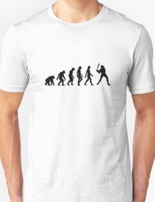 The Evolution of Baseball T-Shirt
