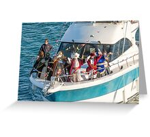 The 3 Kings arrive Greeting Card