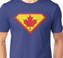 Canadian Superman Logo Unisex T-Shirt