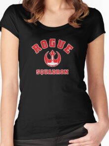 Rogue Squadron Women's Fitted Scoop T-Shirt