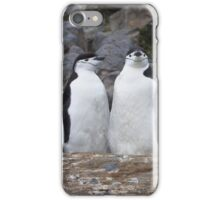 Chinstrap Penguins ~ Aerobics Workout iPhone Case/Skin