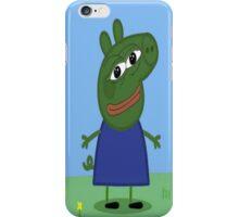 Pepe pig iPhone Case/Skin
