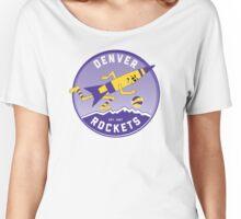 Denver Rockets ABA Basketball  Women's Relaxed Fit T-Shirt
