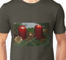 Candlelight in duplicate Unisex T-Shirt