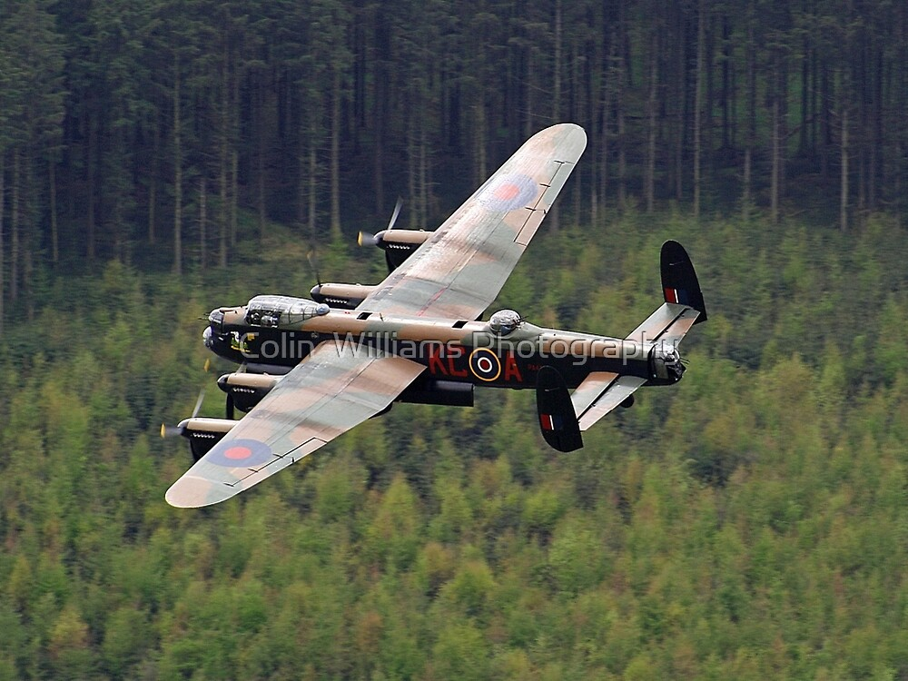 Dambusters 70 Years On - Flypast At The Derwent Dam - 1 by Colin  Williams Photography