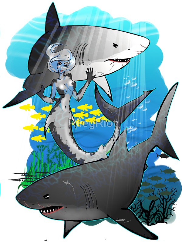 GreatWhites by RileyRiot