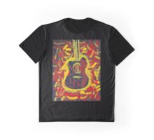 'The Boxing Guitar' by Ryan Kelly (2016) Graphic T-Shirt