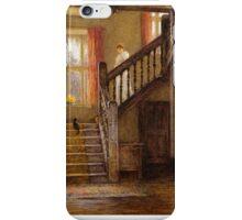 Helen Allingham - The Staircase, Whittington Court, Gloucestershire iPhone Case/Skin