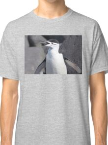 """Chinstrap Penguin ~ """"The Geologist"""" Classic T-Shirt"""