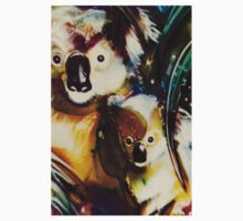koala girls tiled Kids Tee