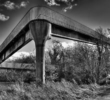 Footbridge  by Nigel Bangert