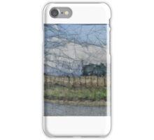 Hay field iPhone Case/Skin