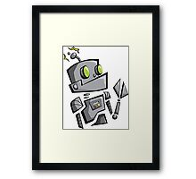 Bantam Robot Framed Print