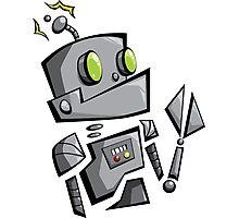 Bantam Robot Photographic Print