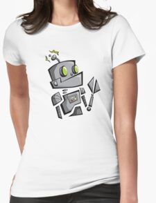 Bantam Robot Womens Fitted T-Shirt