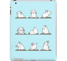 Bunnies Yoga iPad Case/Skin