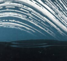 6 month exposure at The river Cuckmere Sticker