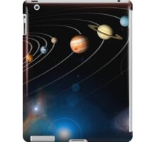 Digitally generated image of our solar system and points beyond. iPad Case/Skin