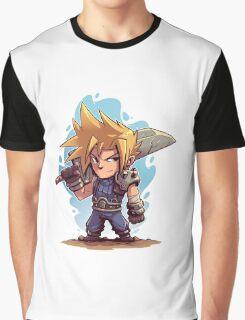 Cloud FFVII Chibi Graphic T-Shirt