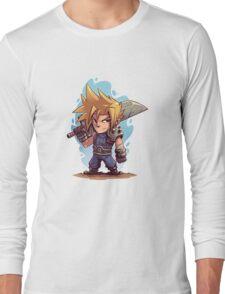 Cloud FFVII Chibi Long Sleeve T-Shirt