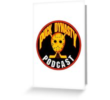 Puck Dynasty Podcast - 90's Vancouver Greeting Card