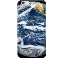 View of Full Earth centered over the Pacific Ocean. iPhone Case/Skin