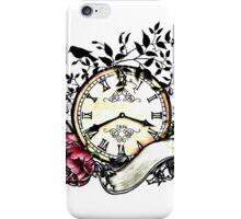 Clock by benocsart iPhone Case/Skin