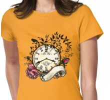Clock by benocsart Womens Fitted T-Shirt