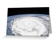 Huricane Igor Greeting Card