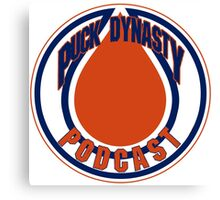 Puck Dynasty Podcast - Edmonton Canvas Print