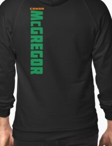 Conor McGregor Green and Orange - Back T-Shirt