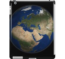 Full Earth view showing Africa, Europe, the Middle East, and India. iPad Case/Skin