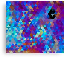 Purples and Blues Canvas Print