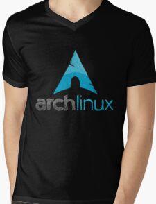 Arch Linux Mens V-Neck T-Shirt