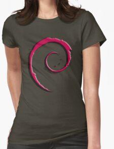 Debian Logo Womens Fitted T-Shirt
