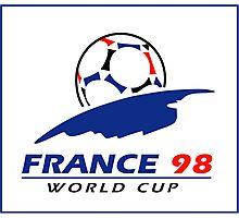 World cup 98 logo Photographic Print
