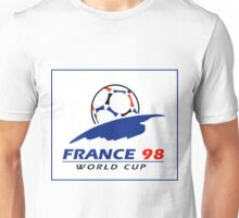 World cup 98 logo Unisex T-Shirt