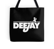 DeeJay 2 Music Quote Tote Bag