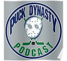 Puck Dynasty Podcast - Grey, Green, and Blue Poster