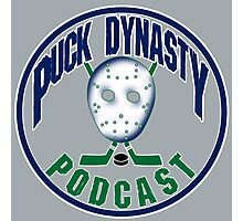 Puck Dynasty Podcast - Grey, Green, and Blue Photographic Print