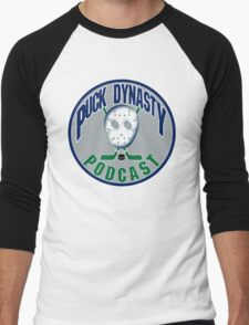 Puck Dynasty Podcast - Grey, Green, and Blue T-Shirt