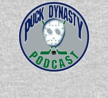 Puck Dynasty Podcast - Grey, Green, and Blue Unisex T-Shirt