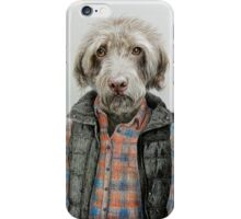 dog in shirt iPhone Case/Skin