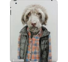 dog in shirt iPad Case/Skin
