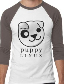 puppy LINUX Men's Baseball ¾ T-Shirt