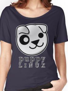puppy LINUX Women's Relaxed Fit T-Shirt