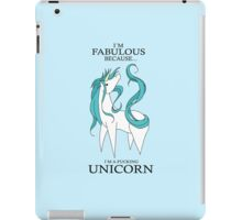 FABULOUS WORLD iPad Case/Skin