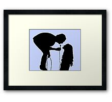 The 1975 Robbers Silhouette  Framed Print